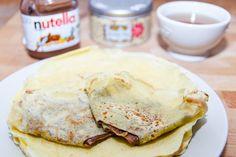 Miam ! Les crêpes au nutella ! #chandeleur