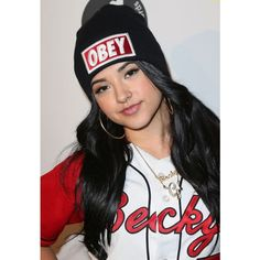 Becky G Becky G (I'm her biggest fan) ❤ liked on Polyvore