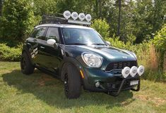 Ultimate Off Road lift kit customised Mini Countryman and Paceman from Speed UK dealer Mini Works Mini Cooper 4x4, Mini 4x4, Mini Cooper Custom, Mini Cooper Classic, Mini Coopers, Mini Paceman, Cooper Countryman, Bull Bar, Toyota 4x4