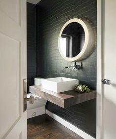 Interior Designer Portfolio by Pulp Design Studios - Dering Hall Bath Trends, Bathroom Trends, Bathroom Ideas, Bath Ideas, Bathroom Inspiration, Design Inspiration, Boho Bathroom, Bathroom Colors, Bathroom Black
