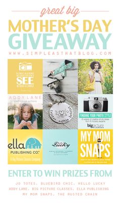 simple as that: The Great Big Mother's Day Giveaway!