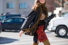 The Best Street Style from New York Fashion Week  - MarieClaire.com