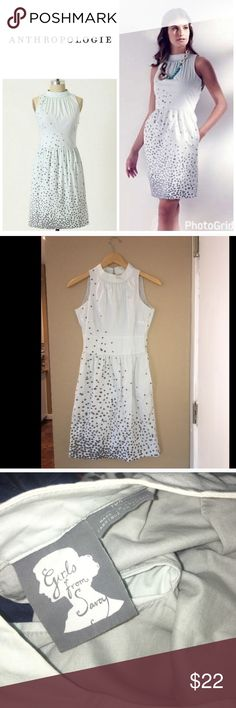 """Anthropologie Rhomboid Rush dress Size 2 and runs true to size . Measurements - waist 13.75"""" . Bust -17"""" across . Cotton material . 36"""" long . In great condition. Anthropologie Dresses"""