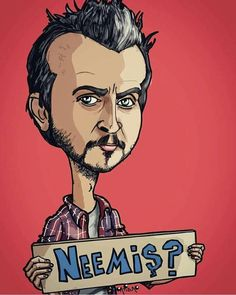 Neeemiş? Comedy Series, Series Movies, Tv Series, Cinema Posters, Movie Posters, Illustrations And Posters, Graphic Art, Pop Art, Caricature