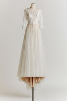 Long sleeve wedding dress from BHLDN's Spring 2015 Collection