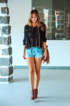 Jeans Shorts - Luisa Meirelles