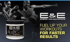*You gotta try it!* E helps improve your energy, endurance, and focus with no artificial flavors, sweeteners, preservatives, or high-risk ingredients. Drink it before your workout and you'll burn more calories and fat to get ripped faster. Maximize muscle performance to build muscle faster.