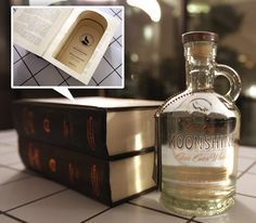 moonshine in a book