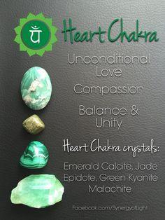 Crystals Stones: Heart Chakra #Crystals.