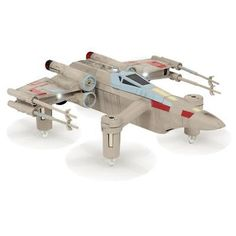 ﹩159.99. Propel Star Wars T-65 X-Wing Starfighter Quadcopter with Collectors Edition Box Manufacturer - Propel Star Wars, Configuration - Drone Only, Skill Level - Pro, Drone Type - Quadcopters, Gimbal Option - No Gimbal, Camera Included - No Camera, Camera Still Resolution - None, Camera Video Resolution - None, Flight time (up To) - 6 min., Color - Gray, Transmitter - With Transmitter, Kit Style - Base, FAA Registration (Non-Commercial Usage) - Under 250g (Not Required), UPC - 81921