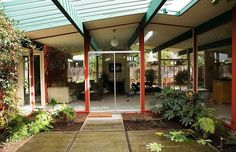 Joseph Eichler Homes: Outstanding Atriums