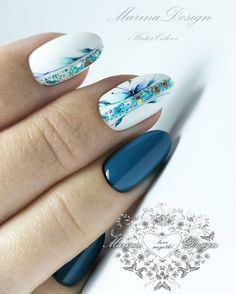 nail art – New Ideas Classy Nails, Fancy Nails, Trendy Nails, Nail Art Designs Videos, Best Nail Art Designs, Best Acrylic Nails, Nagel Gel, Nail Decorations, Flower Nails