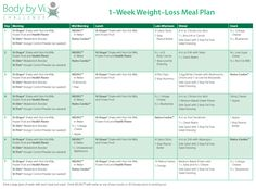 This menu plan is exactly what is helping people get success on their 90 Day Challenge!