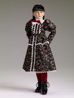 Agnes Dreary™ | Tonner Doll Company - she is pretty gloomy and would work great with a scary display