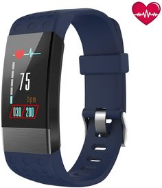 BuTure Fitness Tracker, Pedometer for Walking, Heart Rate Monitor, Fitness Tracker Watch IP67, Sleep Monitor for Exercising and All Day Wear Compatible with iPhone and Android* Click image to review more details. (This is an affiliate link) #fitnesstracker Best Fitness Tracker, Heart Rate Monitor, Android, Walking, Sleep, Exercise, Iphone, Watch, Link