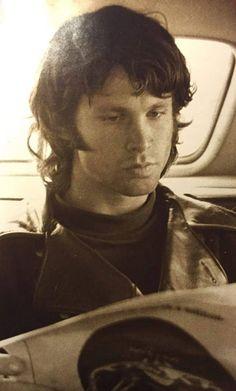 Jim Morrison. Poet, Singer in The Doors.
