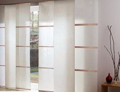 japanese panels of leroy merlin – Most Beautiful Furniture Panel Blinds, Shades Blinds, Curtains With Blinds, Panel Curtains, Japanese Blinds, Door Dividers, Pine Dining Table, Studio Living, Window Coverings