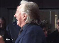 "AR greeting his friend Ralph Fiennes who portrayed Lord Voldemort in the ""Harry Potter"" series of films"