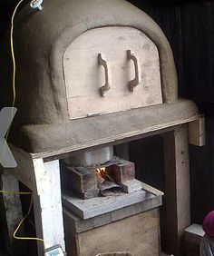 Rocket Oven as Kiln (bread oven idea).  Instructables.