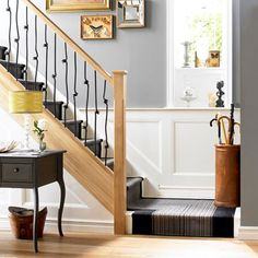 With a little creativity your hallway can become a stylish room of its own