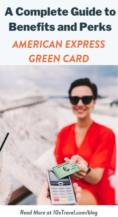 The American Express Green Card is worth considering for occasional travelers who want to earn flexible rewards points and enjoy extra perks at the airport. Check out the blog for our complete guide to the Amex Green Card to see if it is right for you. #creditcards #bestcreditcards #travelrewardcards