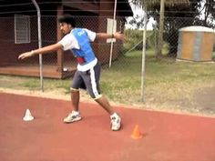 DISCUS Throw Pivoting drills by Didier POPPE