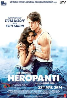 Heropanti Review | Starring Tiger Shroff And Kriti Sanon | Rating: 1.5/5 Stars (One and half stars)