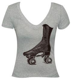 roller skate tee