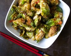 Crispy Brussels sprouts tossed in an authentic Thai chili fish sauce for a side dish you won't forget!
