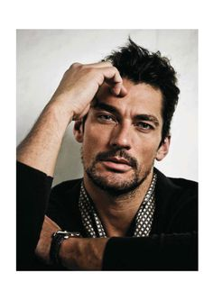 David Gandy for Marie Claire