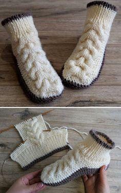 Crochet blanket patterns free 840836192914914963 - Wolle Kabelschuhe – Free Knitting Pattern Wolle Kabelschuhe – Free Knitting Pattern knitting tutorial… Source by Knitting Patterns Free, Knit Patterns, Free Knitting, Baby Knitting, Start Knitting, Knitting Increase, Knit Slippers Free Pattern, Knitted Slippers, Knitted Blankets