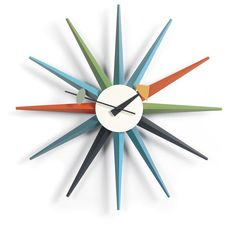 George Nelson Style Wall Clocks