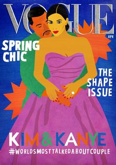 Deconstructed / reinterpreted Iconic Magazine covers by Georgia Perry