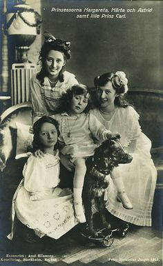 The original Haga Princess, sisters of now King Carl of Sweden.  Children of Prince Carl of Sweden | Flickr - Photo Sharing!