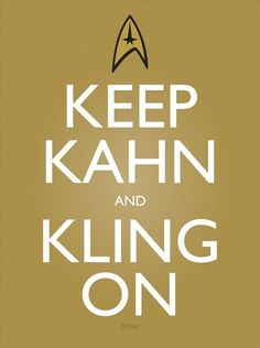 Keep Kahn and Kling On   Japanese Ghost
