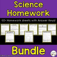 Science homework help answers