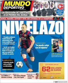 Portada Mundo Deportivo 23/04/2015