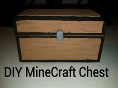 ▶ DIY Minecraft Chest - YouTube