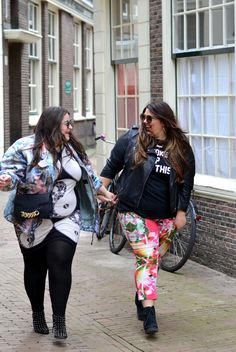 The second Amsterdam outfit that I wanted to show you was this one. Curvy Girl Fashion, Plus Size Fashion, Amsterdam Outfit, Chubby Ladies, Plus Size Beauty, Fat Women, Big And Beautiful, Well Dressed, Plus Size Women