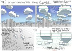 Drawing Tips on Drawing Clouds