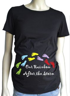 Our Rainbow after the Storm Rainbow baby by AdorkablyYoursByJen