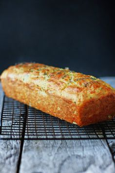 Cheese Olive and Buttermilk Herb Bread | Milk and Honey