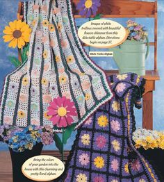 This is a sample of one of the 1,500+ patterns that are in the The Crochet World Collection 2001-2010.