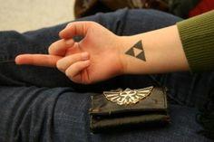 Tatuagens de The Legend Of Zelda 05 - Tinta na Pele | Tatuagem