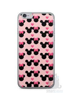 Capa Iphone 6/S Mickey e Minnie - SmartCases - Acessórios para celulares e tablets :)