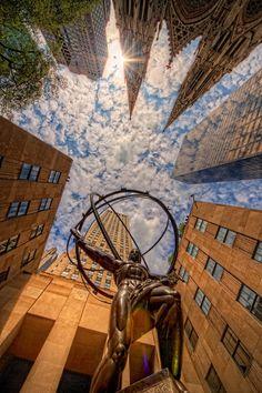 The Infinite Gallery : New York, NY - Rockefeller Center