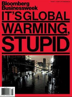 """""""It's Global Warming, Stupid"""": US re-awakens to its big problem."""