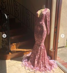 Valquiria's Roses 💸 Black Girl Prom Dresses, Pretty Prom Dresses, Black Prom, Homecoming Dresses, Beautiful Dresses, Formal Dresses, Look 2018, Dream Prom, Prom Outfits