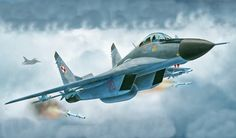 Mig-29 Fulcrum (Revell box art)