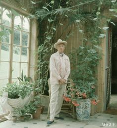 Fashion photographer Cecil Beaton - Photographed by Tim Walker for Vogue In 2005